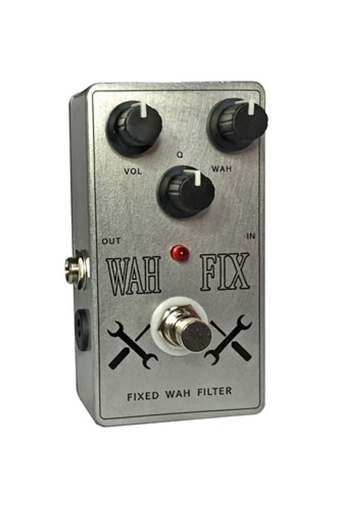 Big Knob Pedals Introduces the Wah Fix