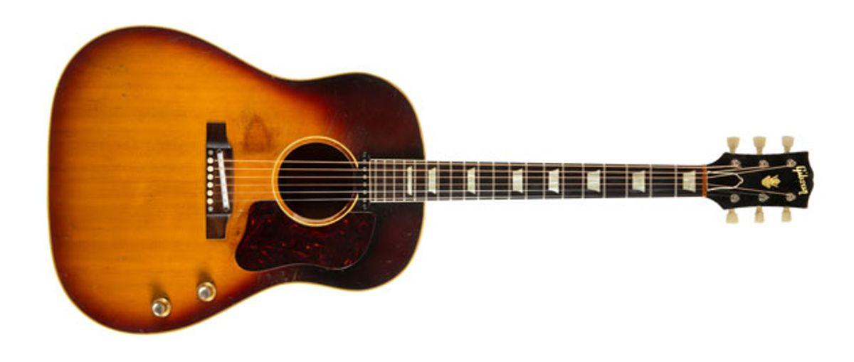 John Lennon's Gibson J-160E Hits the Auction Block