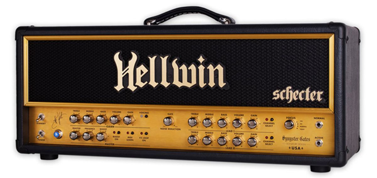 Schecter Amplification Announces the Debut of the Hellwin Series of Amps by Synyster Gates