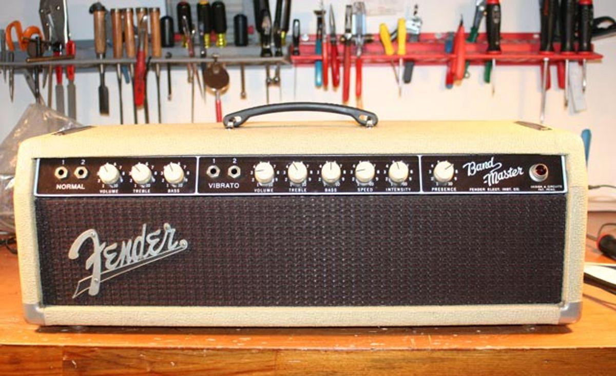 Sprucing up a '60s Blonde Fender Band-Master