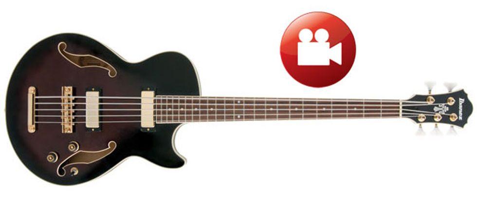 ibanez agb205 5 string bass review premier guitar. Black Bedroom Furniture Sets. Home Design Ideas