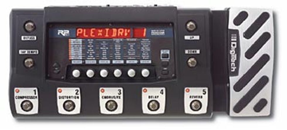 Digitech RP500 Integrated Effect Switching System Review