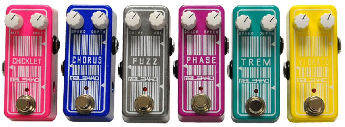 Malekko Heavy Industry Omicron Fuzz, Tremolo, Chorus, Chicklet Reverb, Vibrato, and Phaser Reviews