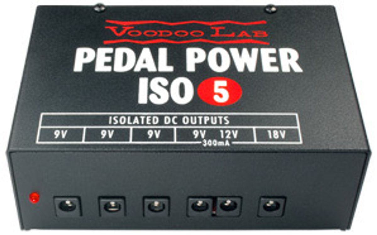Voodoo Lab Now Shipping Pedal Power ISO-5