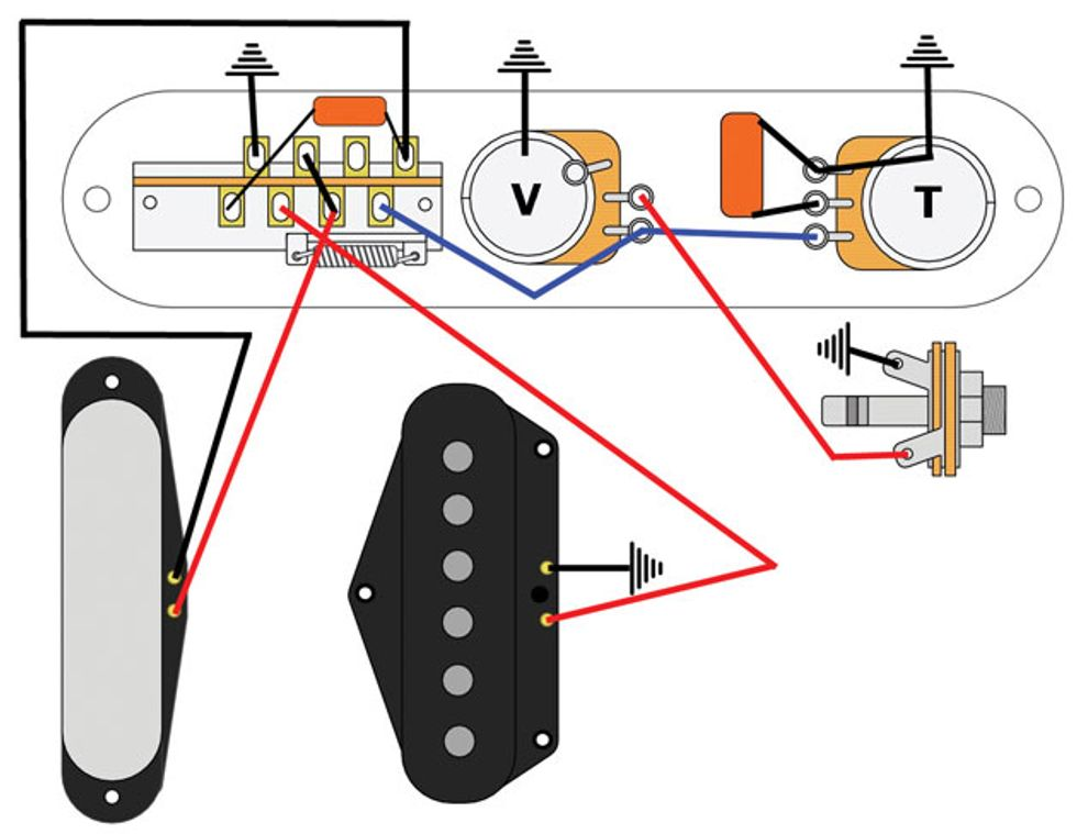 Fig2_WEB mod garage the bill lawrence 5 way telecaster circuit premier telecaster wiring diagram at crackthecode.co