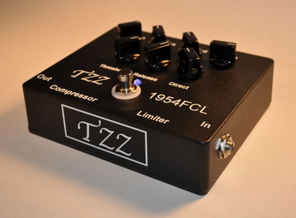 jt sound introduces the tzz1954 fcl compressor limiter pedal premier guitar. Black Bedroom Furniture Sets. Home Design Ideas