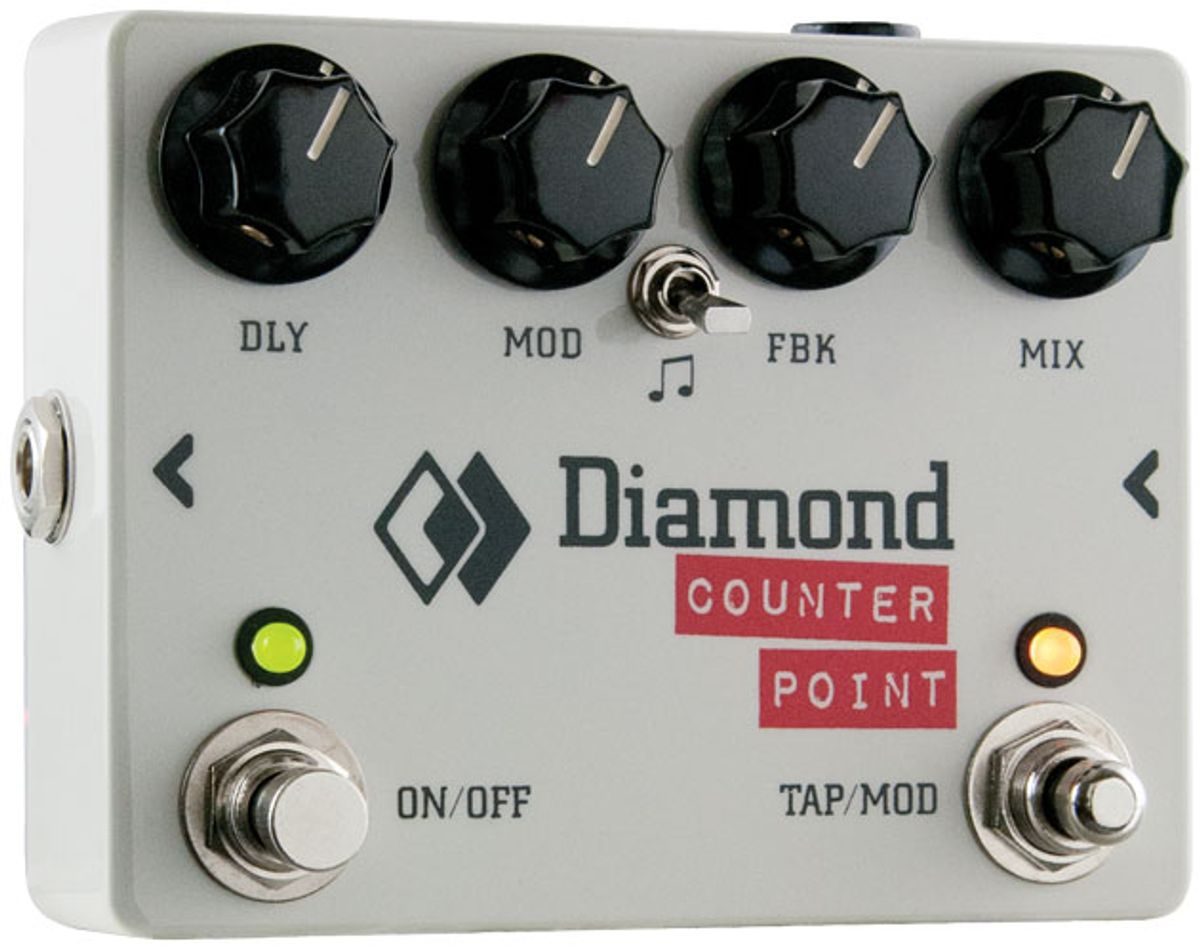 Diamond Pedals Counter Point Delay Review