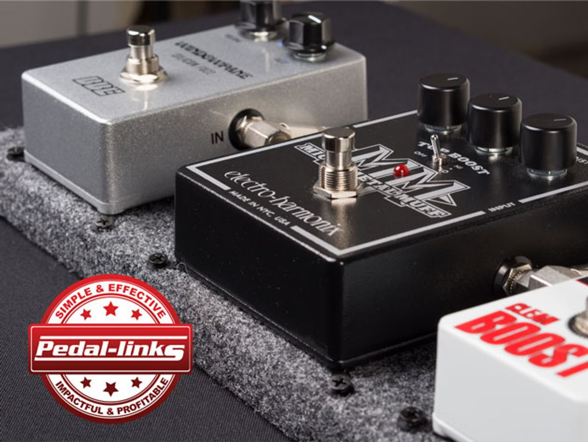 Pedalboard Supplies Releases Pedal-Links Effect Mounting System
