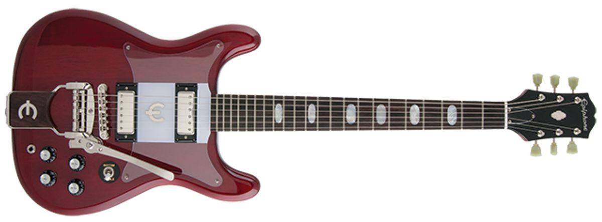 Epiphone 50th Anniversary 1962 Crestwood Custom Outfit Electric Guitar Review