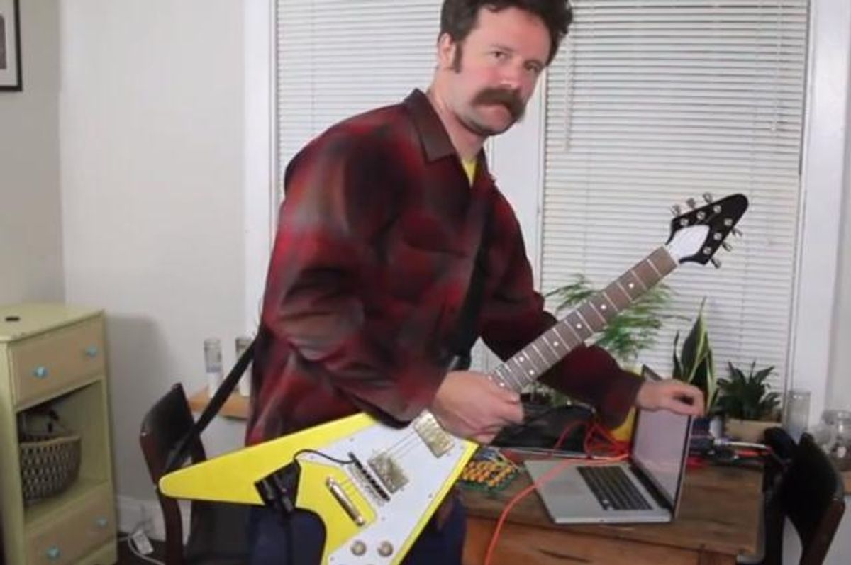 Never Type Again with the Email Guitar