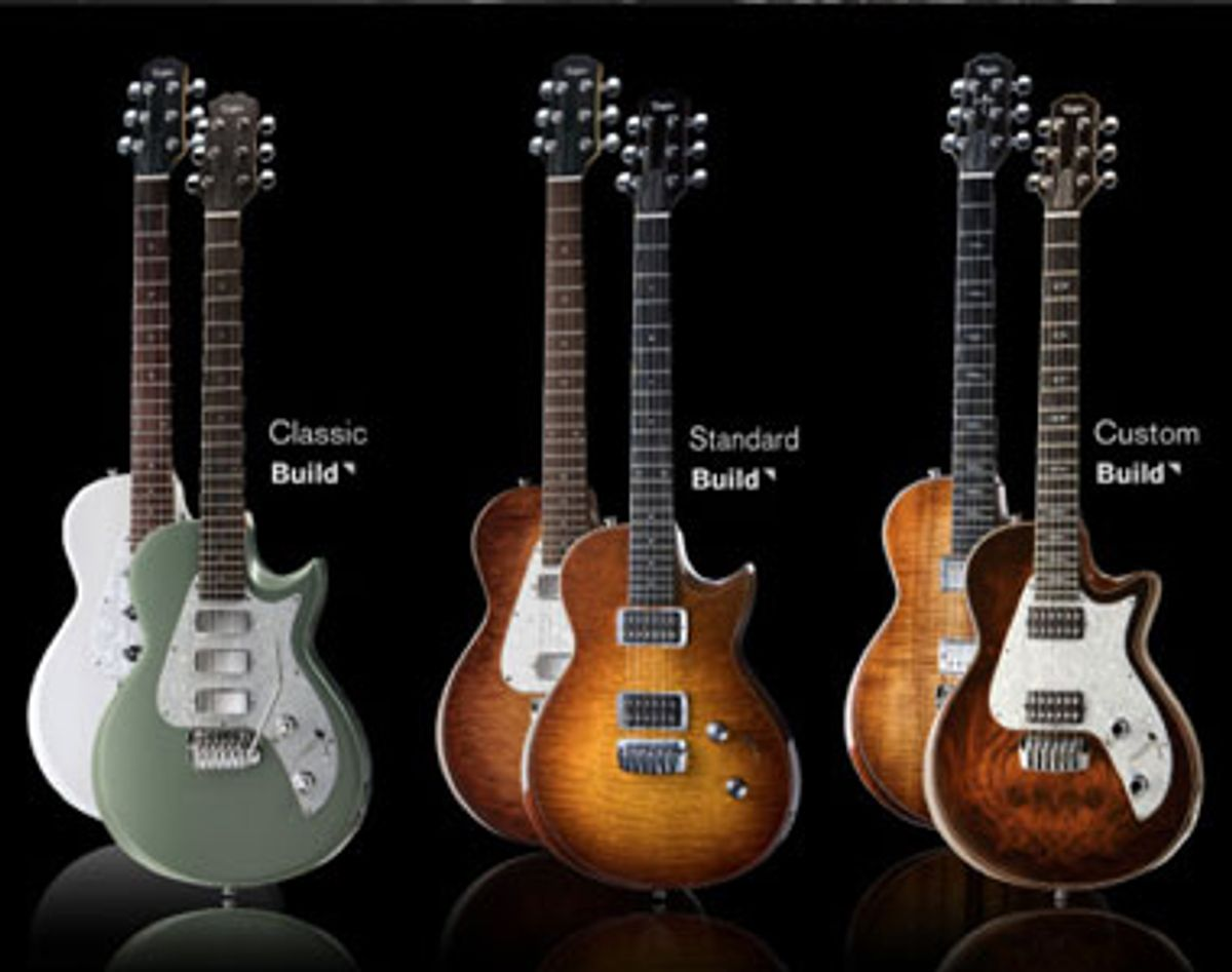 Taylor Launches Online SolidBody Configurator