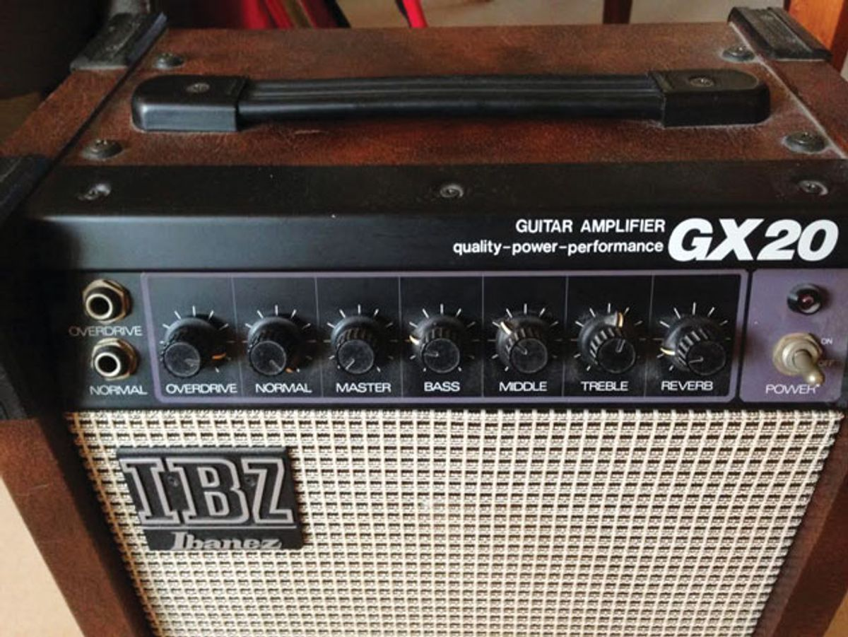 Ask Amp Man: Demystifying the Ibanez GX20's Volume Knobs