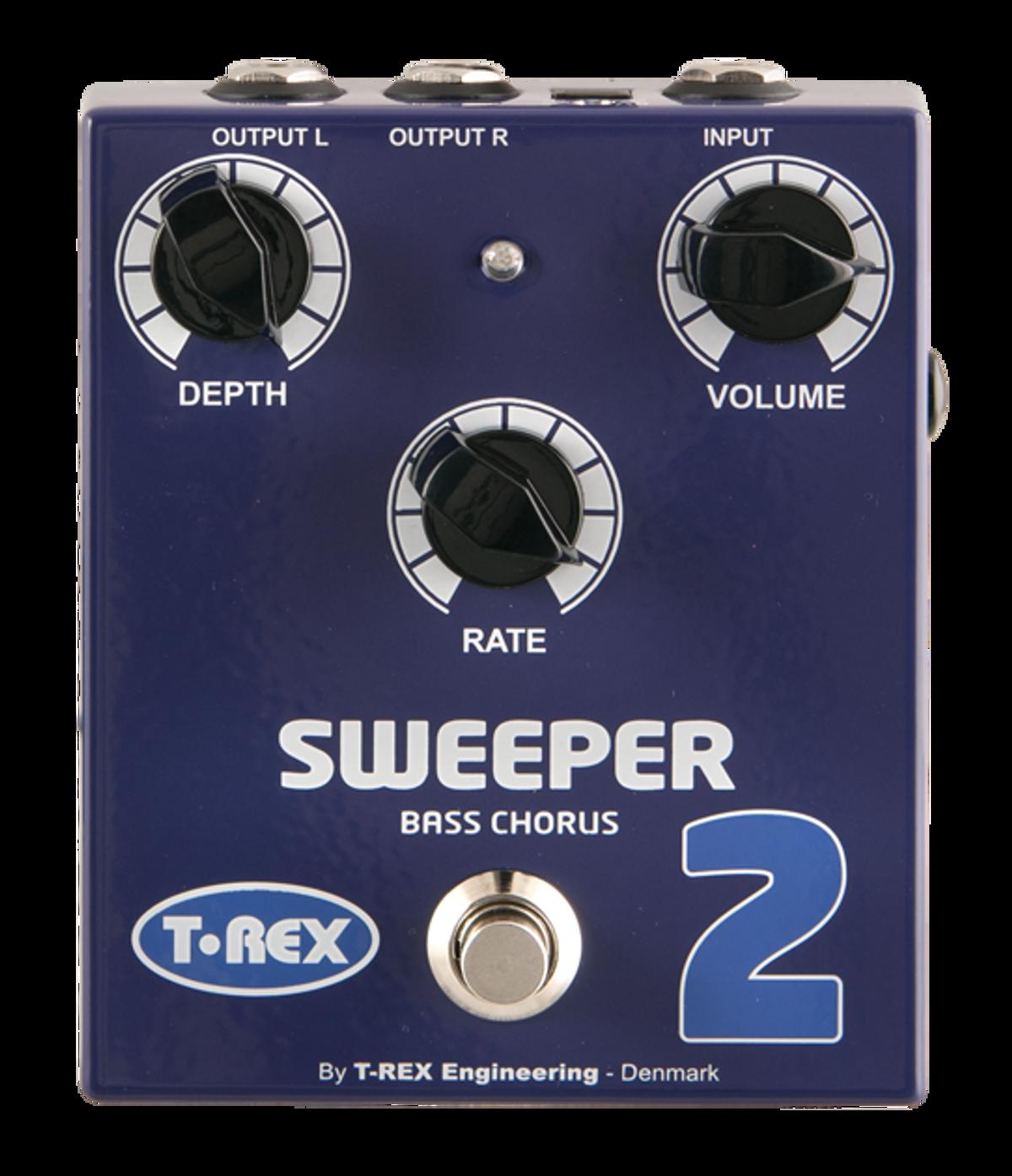T-Rex Sweeper 2 Bass Chorus Pedal Review