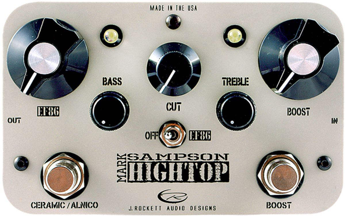 J. Rockett Audio Designs Ushers in Collaboration with  Mark Sampson and Unveils Hightop Boost/EQ