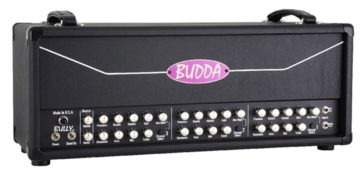 Budda Amplification Bully Amplifier Head Shipping Now