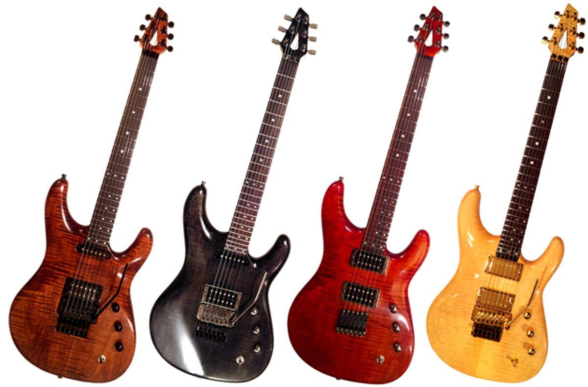 Peterson Guitars Announces New Custom Line of Guitars