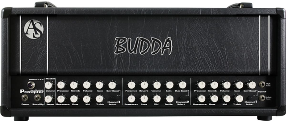 Budda Amplification Introduces the AS Preceptor Alex Skolnick Signature Amplifier