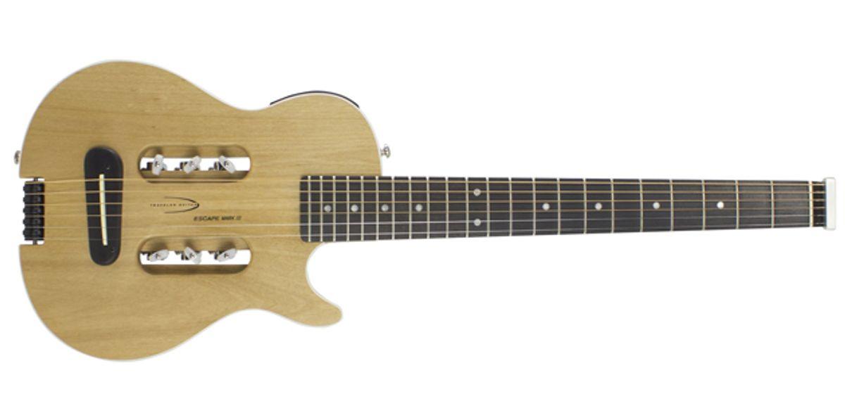 Traveler Guitar Releases Escape Mark III