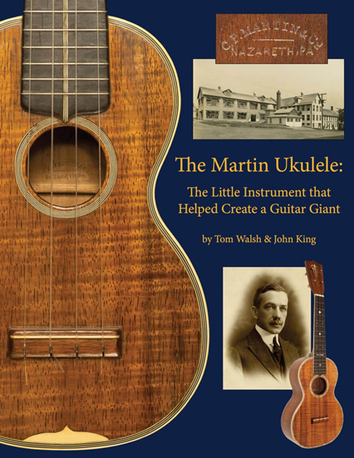 Hal Leonard Releases The Martin Ukulele Book