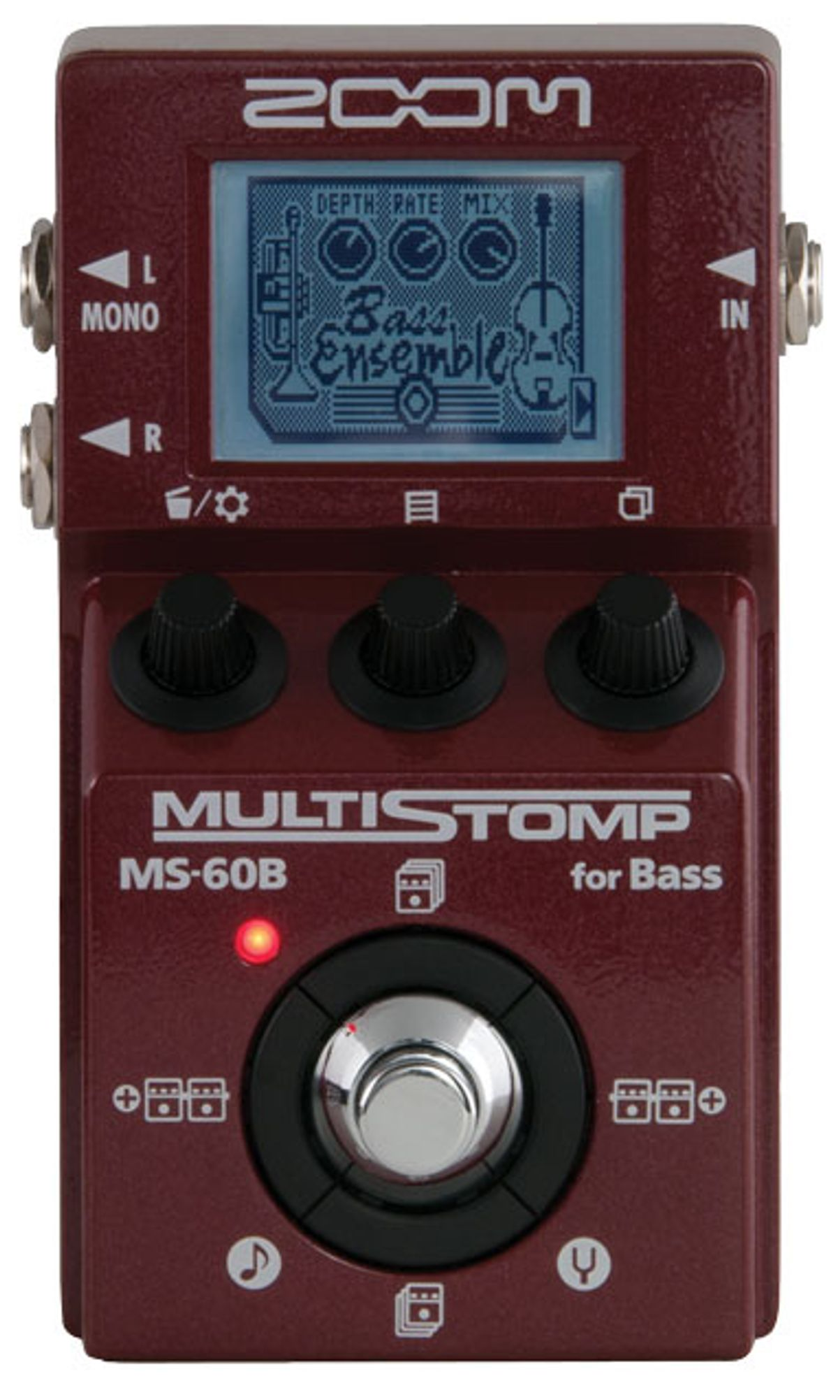 Zoom MS-60B MultiStomp for Bass Review