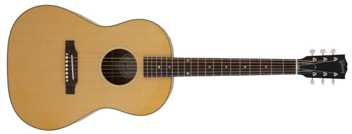 Gibson LG-2 American Eagle Acoustic Guitar Review