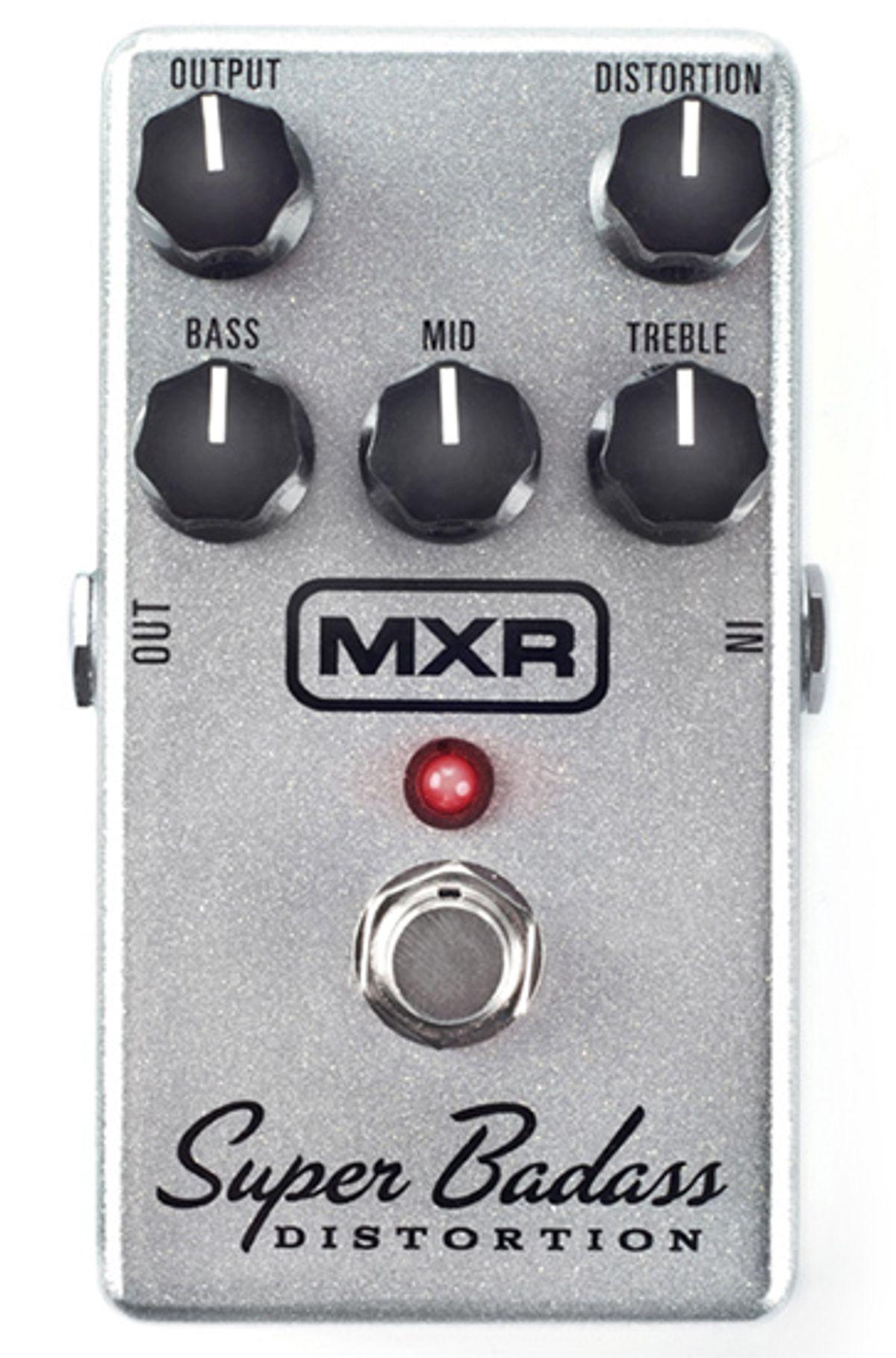 MXR Super Badass Distortion Pedal Review