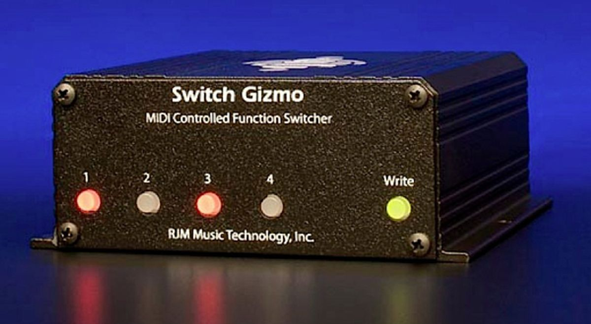 RJM Music Technology Introduces the Switch Gizmo