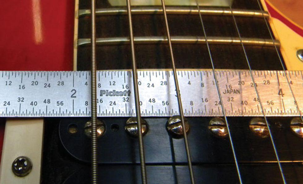 how to install a new tune o matic bridge premier guitar. Black Bedroom Furniture Sets. Home Design Ideas