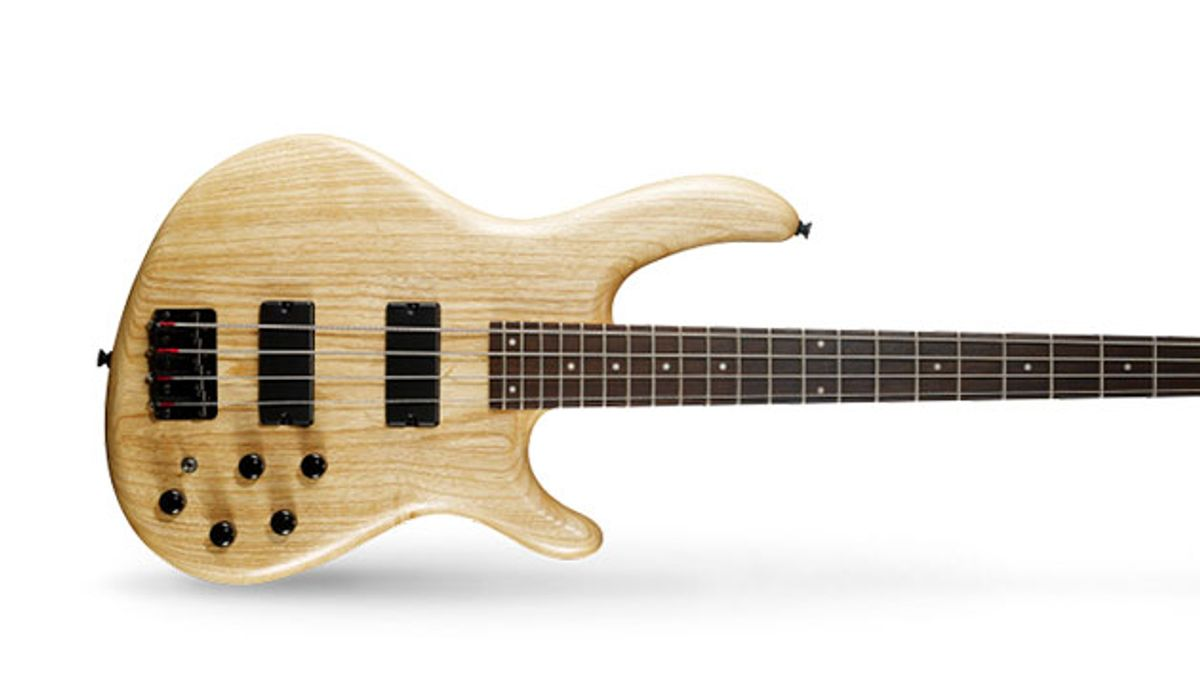 Cort Launches Action DLX AS Bass Guitar