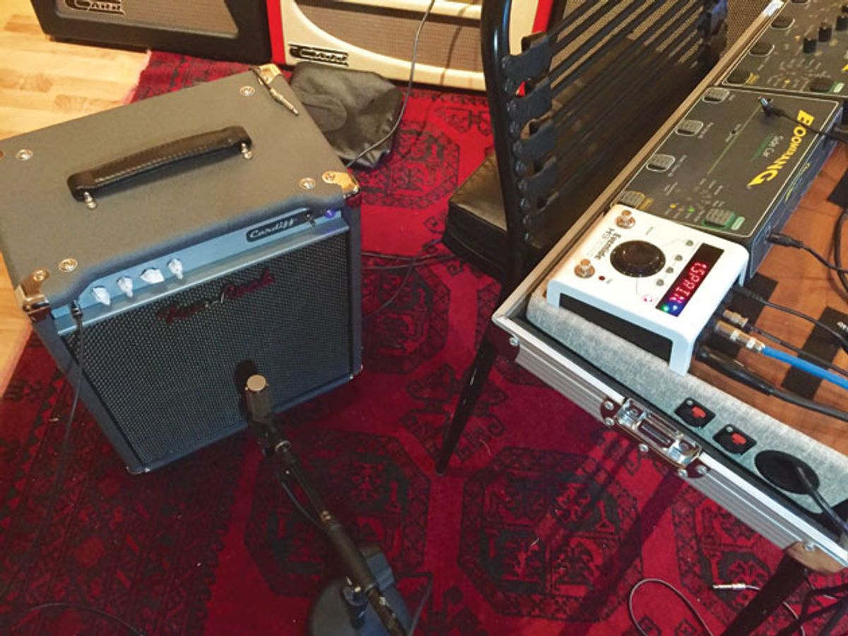 The Recording Guitarist: Is There a Best Way to Route Your Reverb?