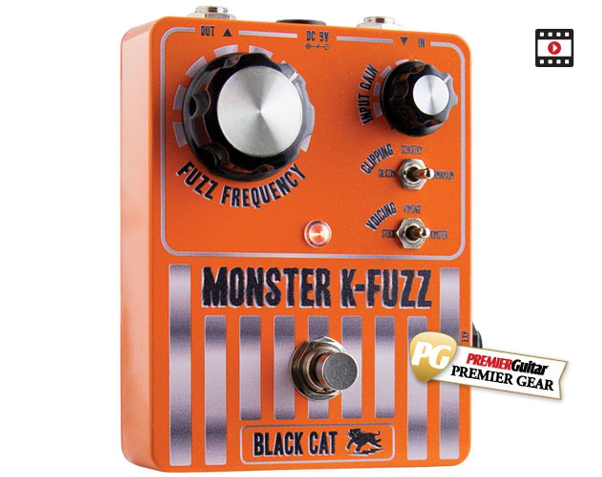 Black Cat Monster K-Fuzz Review