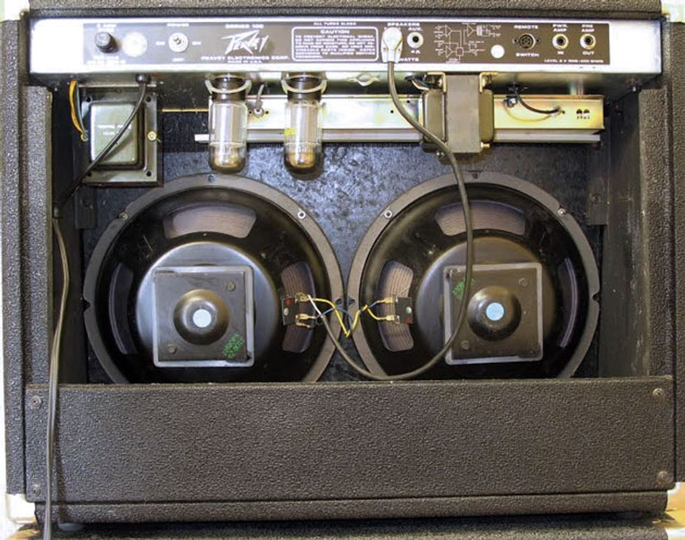A Close Inspection Of The Rubber Stamped Numbers On Back Eminence Speakers In This Peavey Classic Reveals 67 Indicating That These Are Among