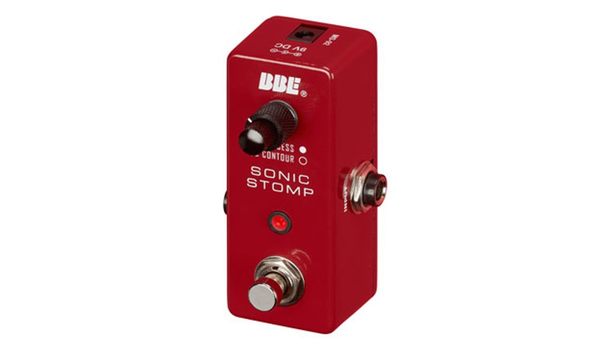 BBE Launches the Mini Sonic Stomp