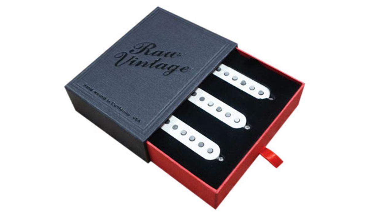 Raw Vintage Unveils RV-50 & RV-60 Single-Coil Pickups