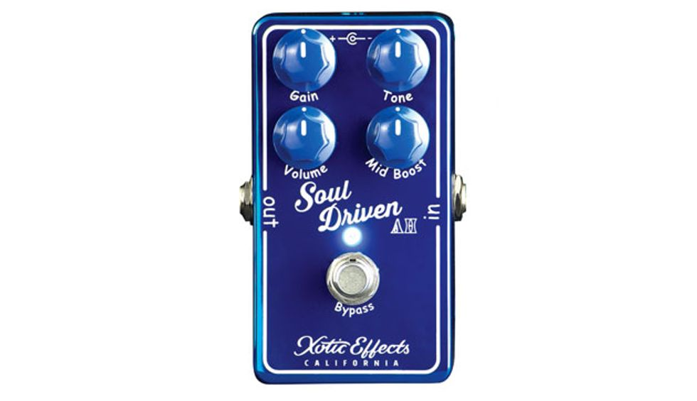 Xotic Effects Soul Driven Overdrive//Boost