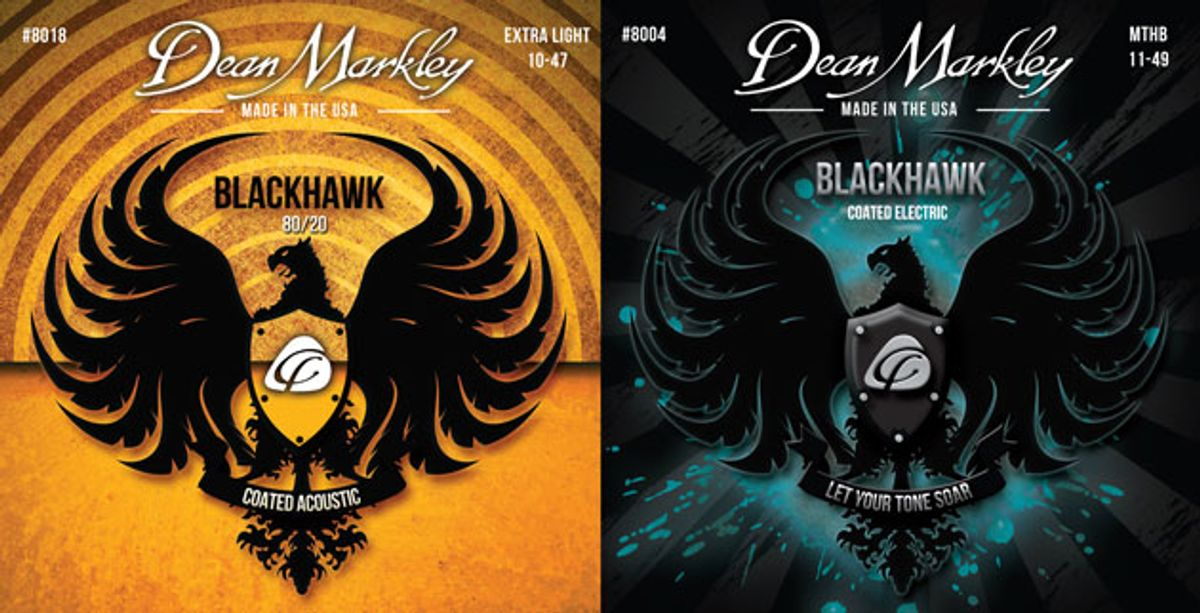 Dean Markley Unveils Blackhawk Coated Guitar Strings