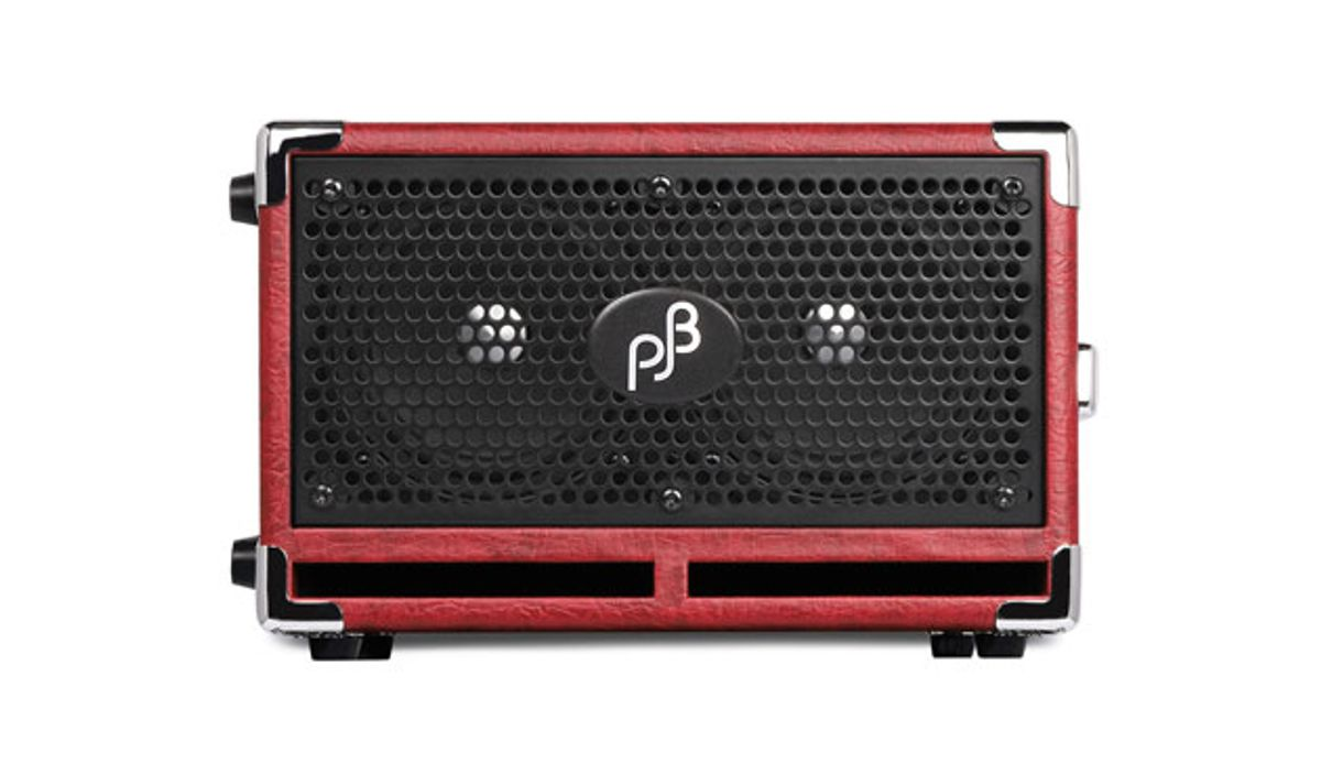 Phil Jones Bass Unveils the C2 Cabinet