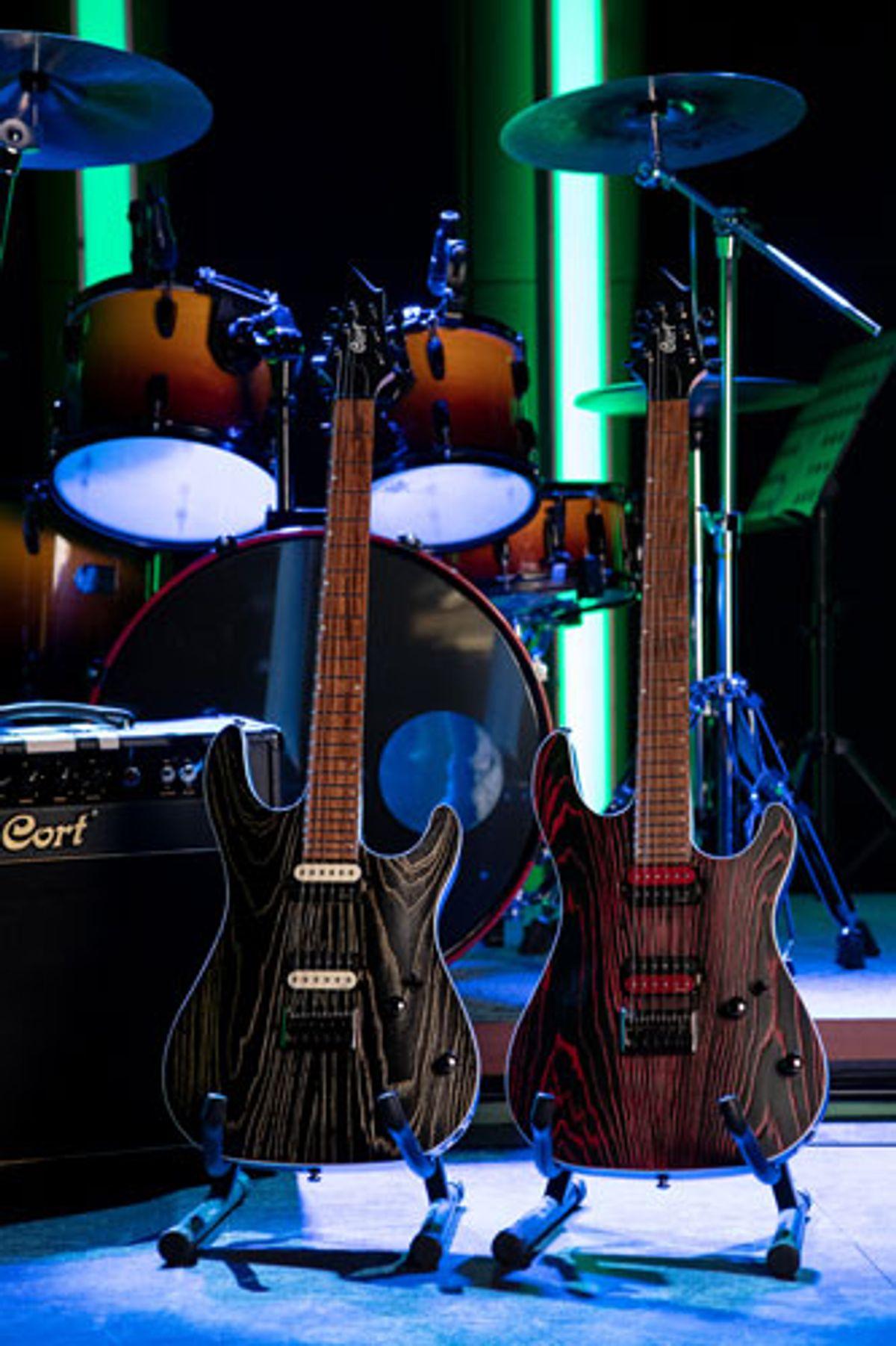 Cort Guitars Unveils the KX300 Etched