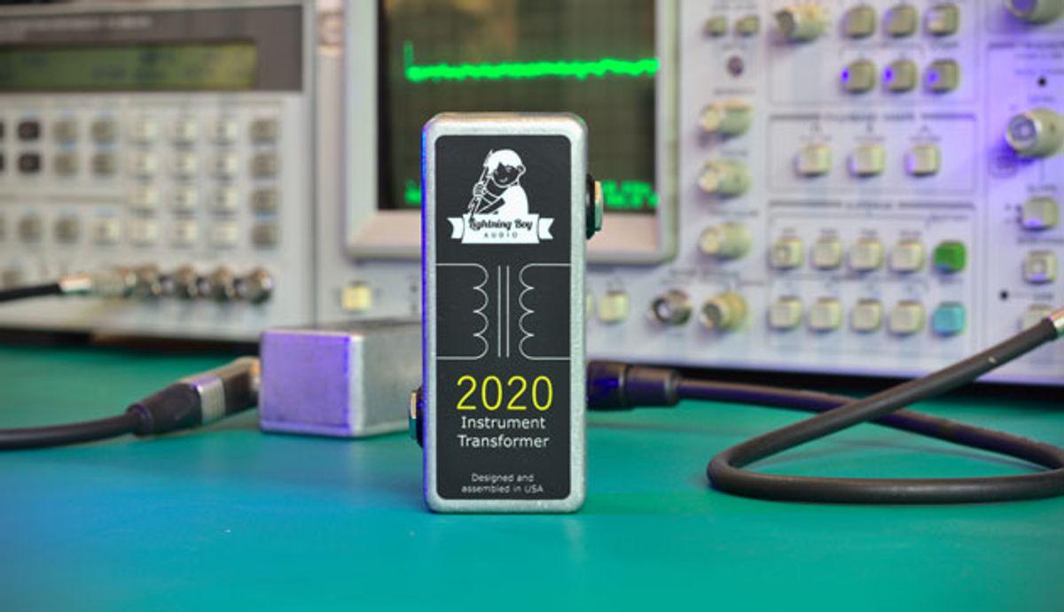 Lightning Boy Audio Launches the 2020 Instrument Transformer