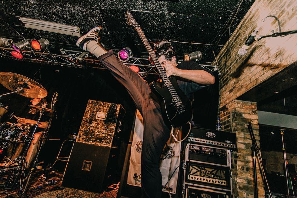 Othodox Nashville hardcore metal Austin Evans ESP Guitar homepage
