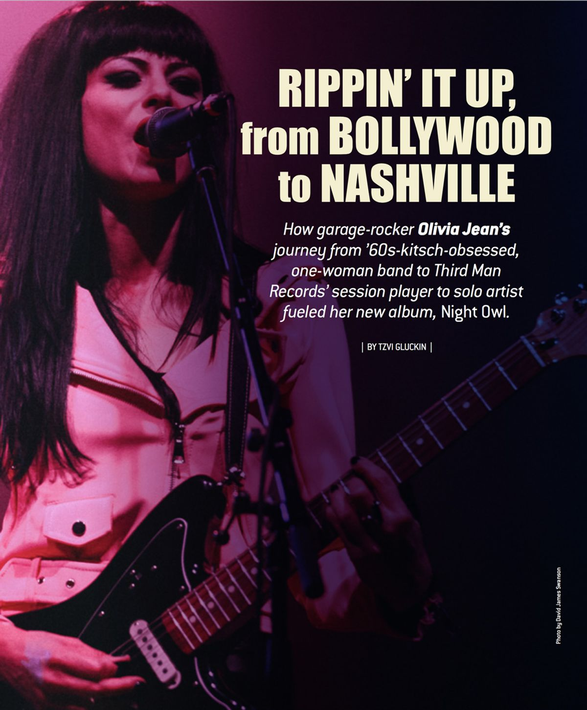 Olivia Jean's Trip, from Bollywood to Nashville