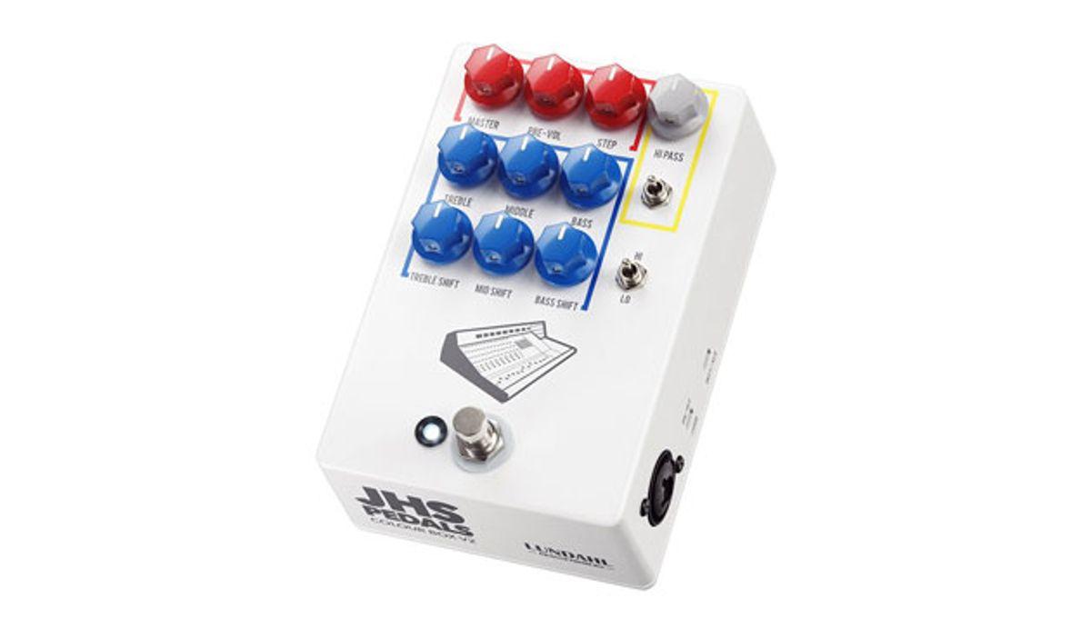 JHS Pedals Announces the Colour Box V2