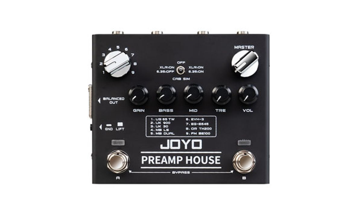 Joyo Audio Launches the R-15 PreAmp House