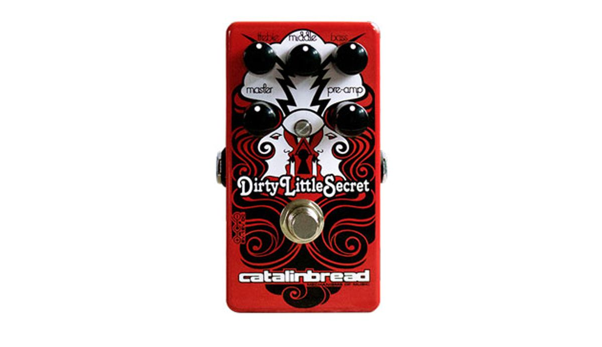 Catalinbread Effects Releases the Dirty Little Secret Red