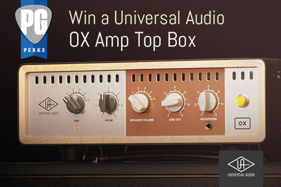 PG Perks: OX Amp Top Box from Universal Audio