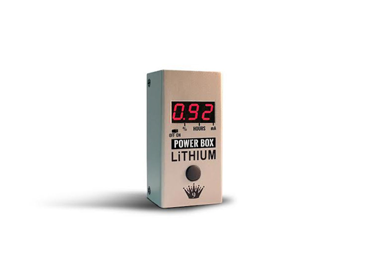 Big Joe Stomp Box Company Releases the Power Box Rechargeable Power Supply