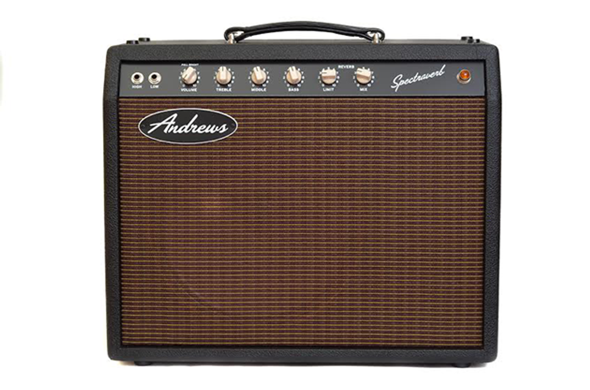 Andrews Amplification Releases the Spectraverb 16