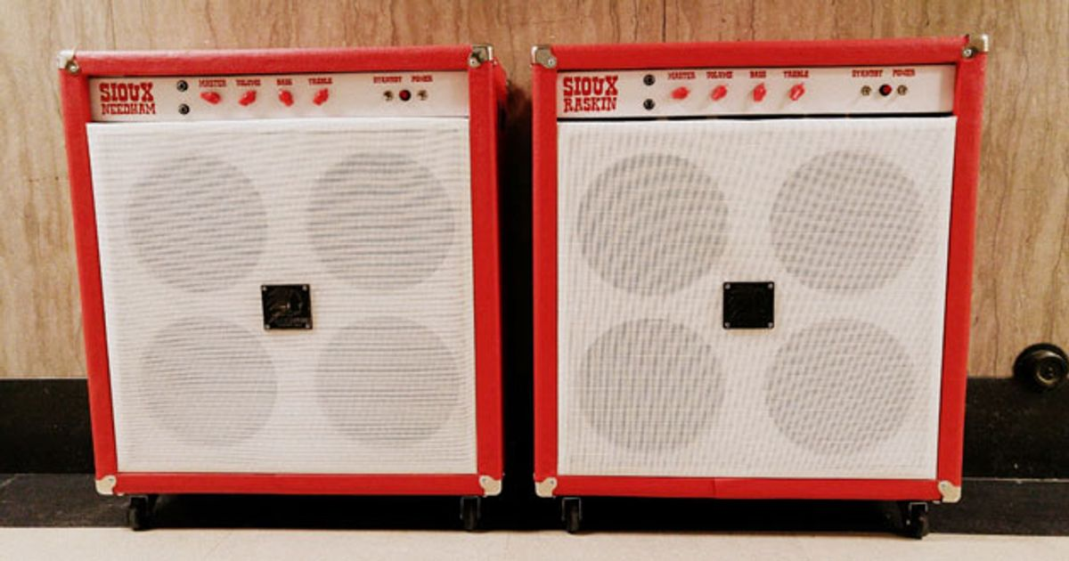 Sioux Guitars Introduces the Needham and Raskin Amps