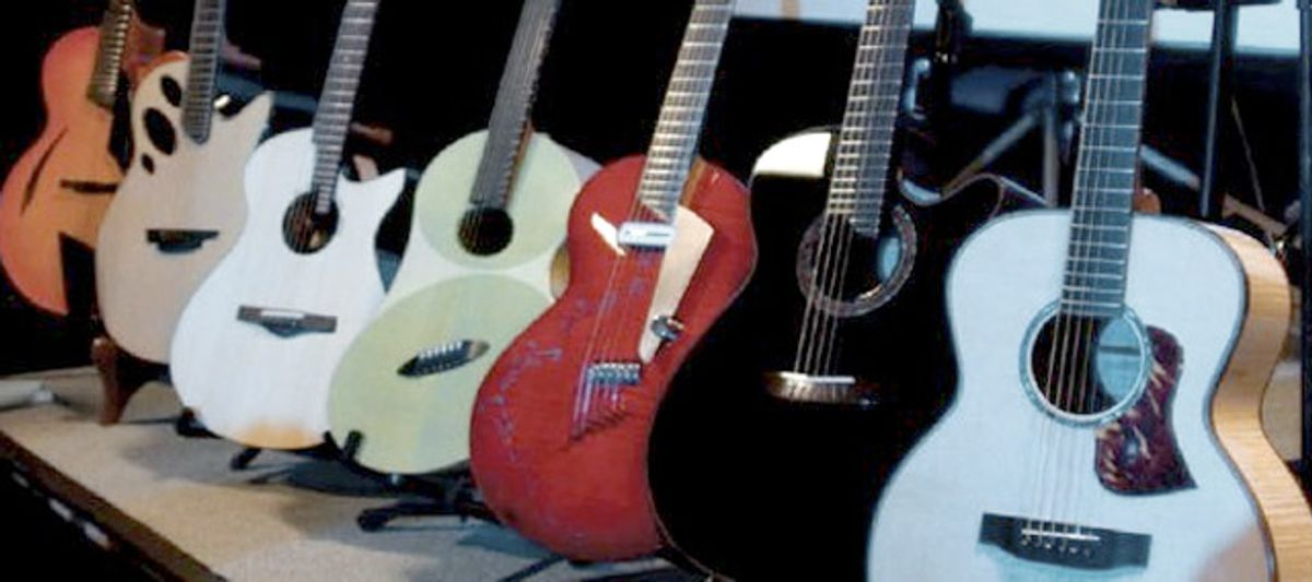 The Montreal Guitar Show '09