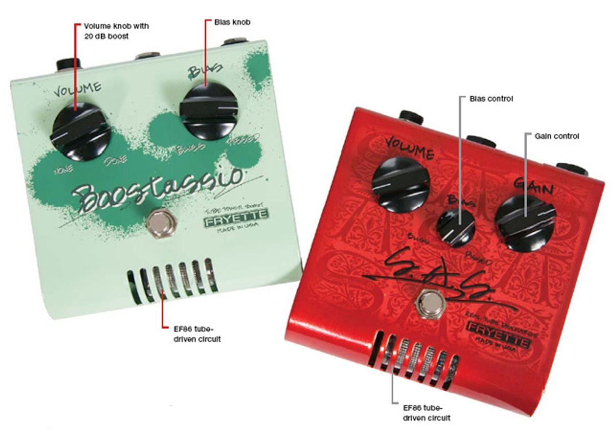 Fryette S.A.S. And Boostassio Pedal Reviews
